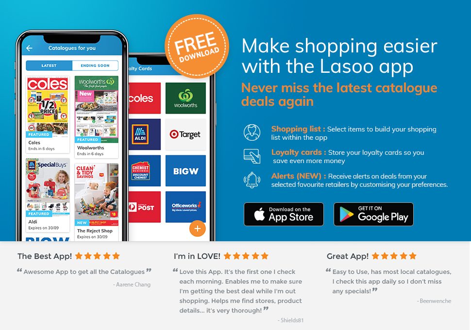 Lasoo Mobile Apps
